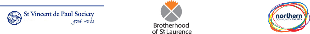 Charities that Pick up your troubles support include St Vincent, Brotherhood of st Laurence, brotherhood fridges & Northern Community Church.